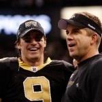Drew Brees and Sean Payton, New Orleans Saints