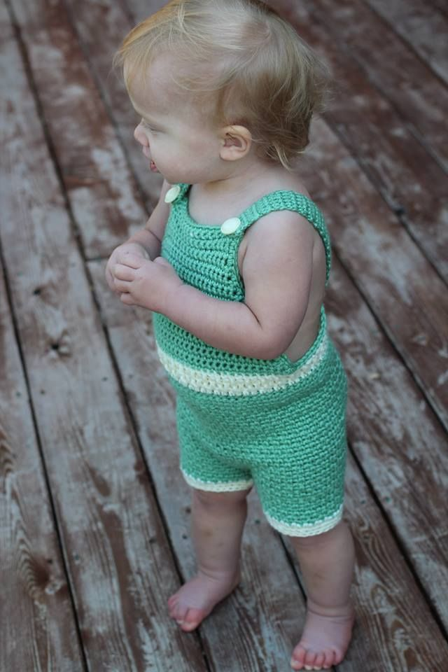 120 besten Crochet Baby Dungarees Bilder auf Pinterest | Baby kommt ...
