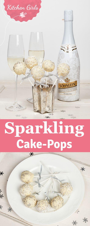 Egal, ob Silvester oder Mädelsabend: Mit diesem Rezept für saftige Sparkling Cake Pops könnt ihr gar nicht falsch liegen.