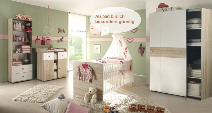 babyzimmer g nstig und komplett als set angebote. Black Bedroom Furniture Sets. Home Design Ideas