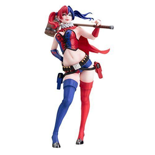 Kotobukiya DC Comics Harley Quinn Bishoujo STATUE, New 52 Version ACTION FIGURE  #Kotobukiya