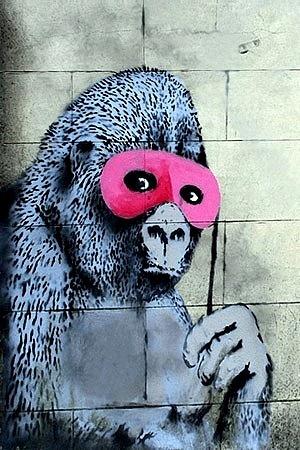 Banksy, Street art and True beauty on Pinterest