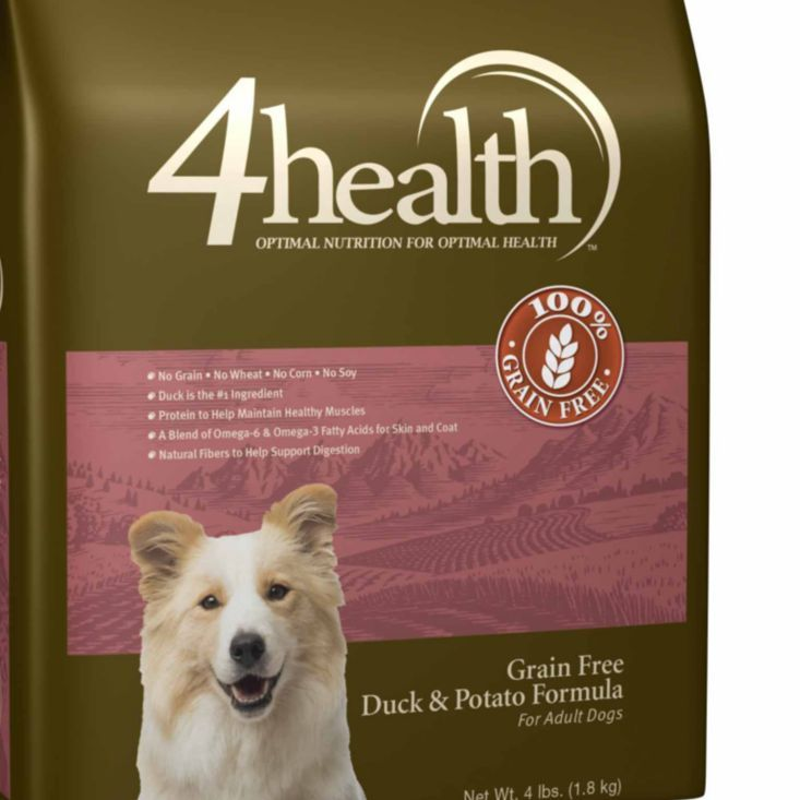 4health Puppy Food >> 4health Grain Free Duck & Potato Dog Food, 4 lb. - Tractor Supply Co. | Tractor Supply ...