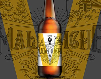 """Check out new work on my @Behance portfolio: """"Handlettered polish craft beer label"""" http://be.net/gallery/49563699/Handlettered-polish-craft-beer-label"""