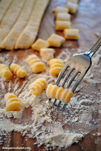 Gnocchi (niyokki)/ yapım aşamaları ve püf noktalarıyla birlikte