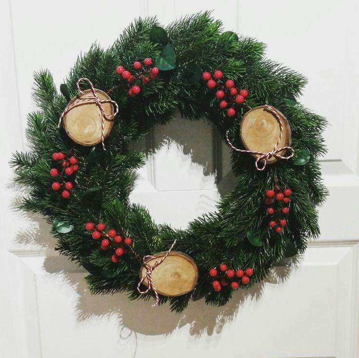 Wreath / decoration / chritmas  / wianek / święta / ozdoba biuro.cudnewianki@gmail.com