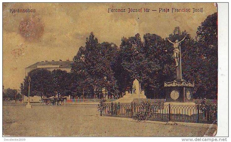 Caransebes - Piata Frantz Josif - antebelica