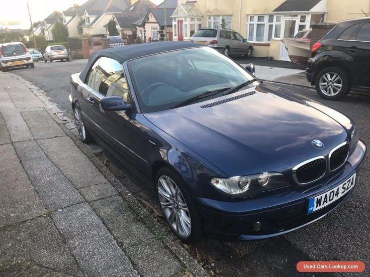 BMW 318 ci convertible #bmw #convertible #forsale #unitedkingdom