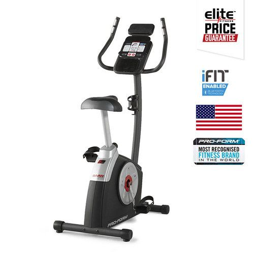 PROFORM 210 CSX  EXERCYCLE- NEW 2016 Technology: iFit® Bluetooth® Smart Enabled Integrated Tablet/Smartphone Holder-  Watts Meter Display- CoolAire Workout Fan- 14 Built-In Personal Trainer Workouts- 16 Digital Resistance Levels- SMR Silent Magnetic Resistance