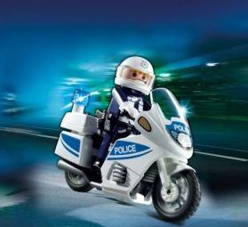 Playmobil Αστυνομική Μοτοσικλέτα (5185)- 11.99