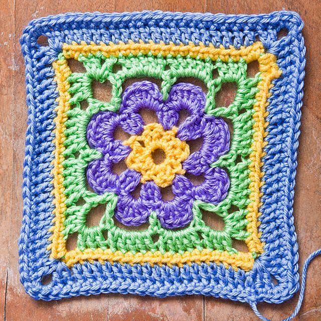 Mejores 113 im genes de aplicaciones de crochet para - Colchas de crochet paso a paso ...