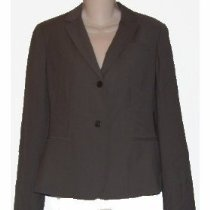 Women's Calvin Klein Dress Jacket Size 2 Part Wool