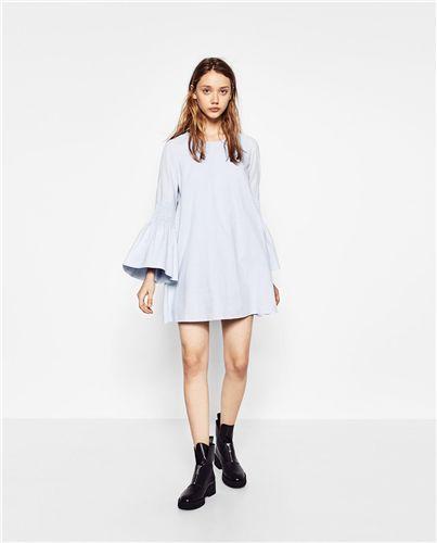 Poplin Jumpsuit Dress
