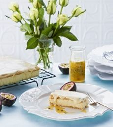 Creamy Vanilla #Slice. The perfect #quick and #easy #dessert! #baking To view the #CADBURY product featured in this recipe visit https://www.cadburykitchen.com.au/products/view/cadbury-melts/
