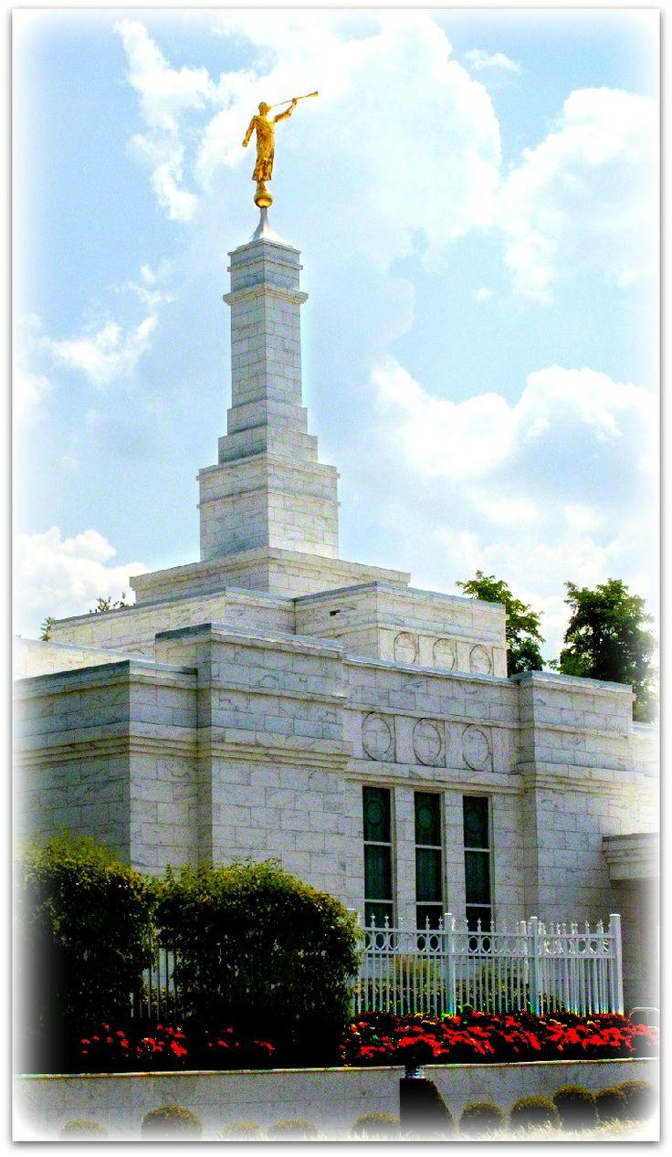 Louisville Kentucky Temple. The Church of Jesus Christ of Latter-day Saints.