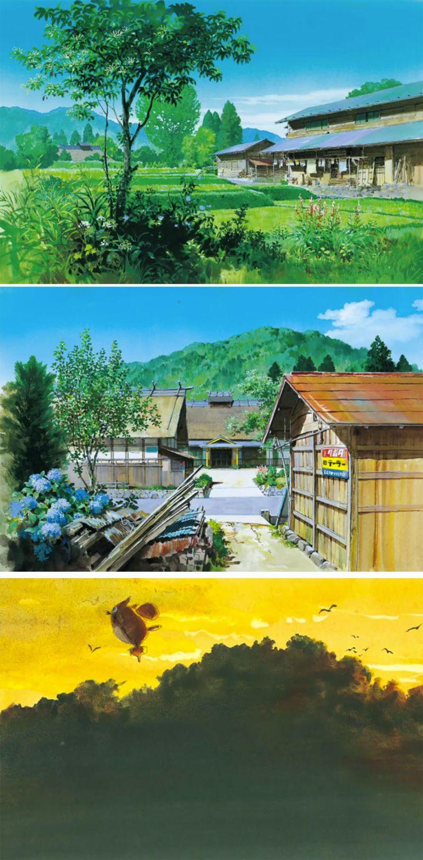 Kazuo Oga for Ghibli