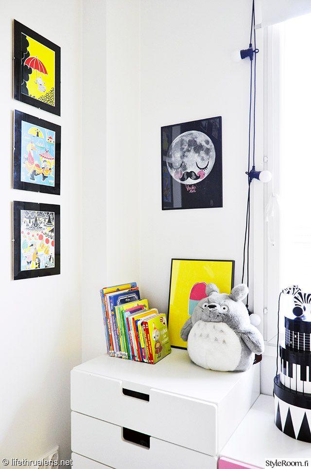 säilytys,muumi,värikäs,taulukollaasi,lipasto,lelut,värit,lastenhuone