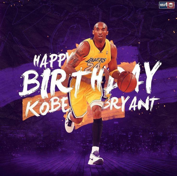 Happy birthday to Kobe Bryant ️ Kobe bryant, Kobe, Los