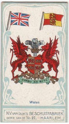 Cymru Am Byth  - coat of arms for Wales (means - Wales Forever)