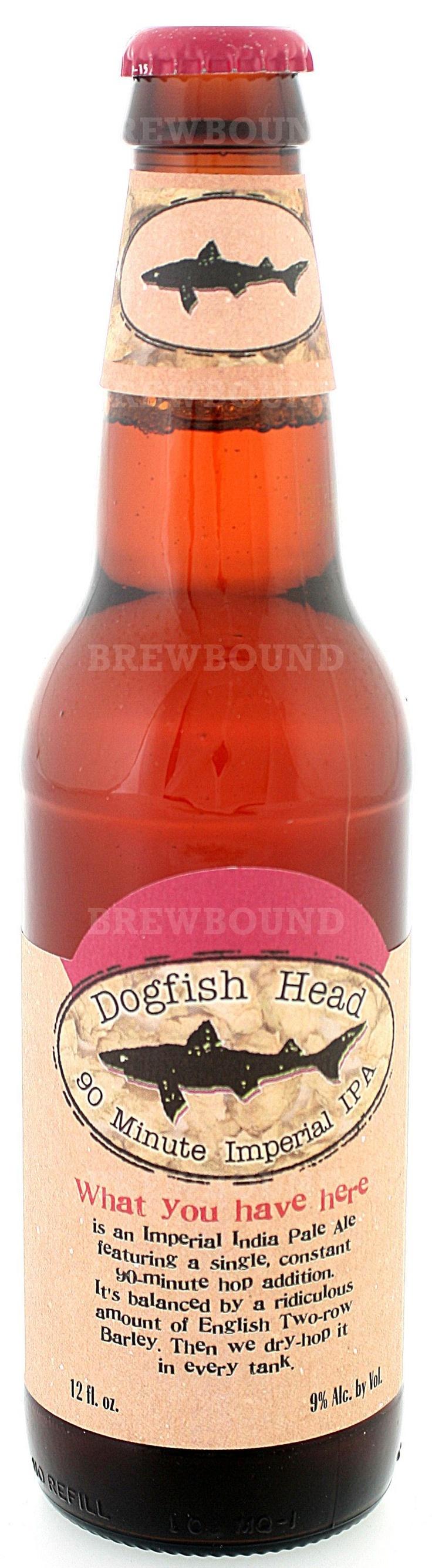 Dogfish Head 90 Minute IPA. #Beer