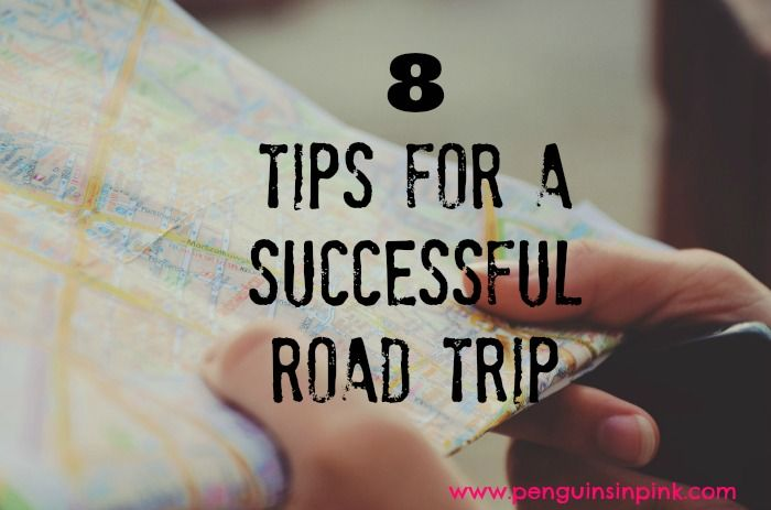 Tips for a Successful Road Trip - 8 tried and true tips for a successful road trip to help you have fun while being prepared. Perfect for quick planning of a spontaneous road trip or elaborating for a planned road trip.