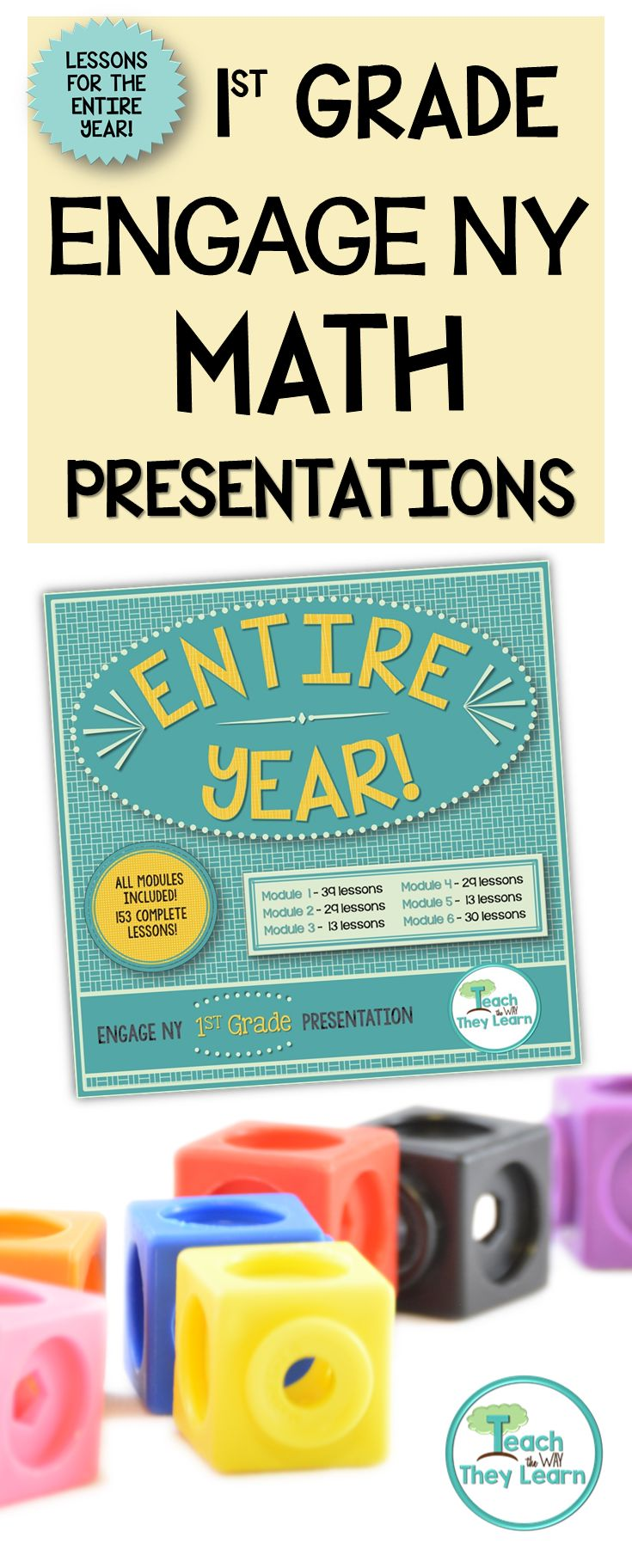 These Engage NY (Eureka Math) First Grade Math Presentations are easy to follow. The entire Engage NY/Eureka Math 1st grade math lesson is ready for you to teach – just follow the slides! Great option for subs in the class!