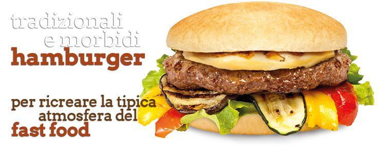 Hamburger tradizionale sempre pronto!