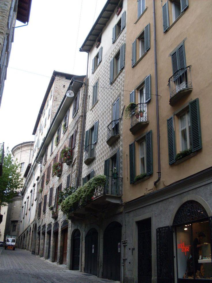 Las calles de Bergamo