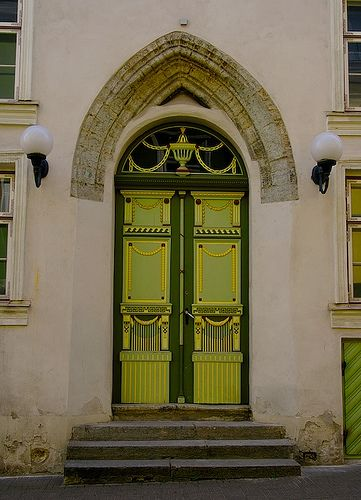 Doors and Windows of Tallinn, via Flickr.