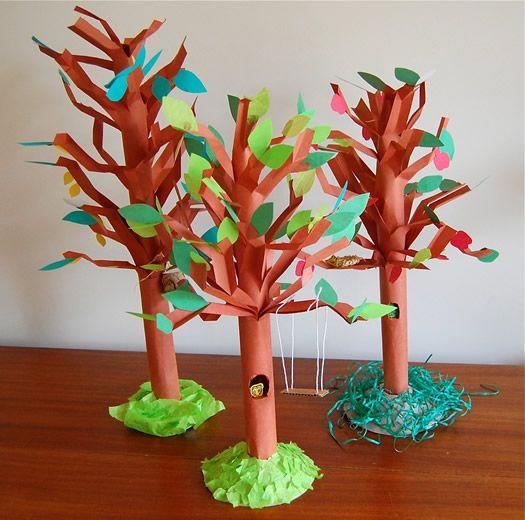 fun paper trees