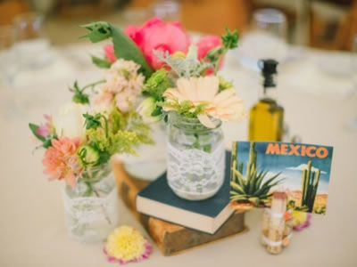 Love this colorful wedding centerpiece set up. Floralisa, East Bay, California.