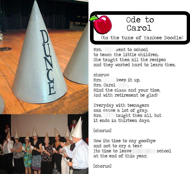 25+ best ideas about Teacher retirement parties on Pinterest ...