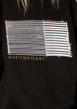 SOUTHCOAST Crew - T.Matts Black Embroidery