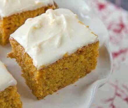 Find The Best Recipes   Paula Deen's Pumpkin Bars Recipe