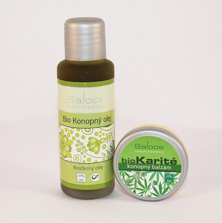 Konope je veľmi účinné pri starostlivosti o suchú a citlivú pokožku postihnutú ekzémami a lupienkou. Má silné regeneračné, zvláčňujúce, antibakteriálne a protizápalové účinky