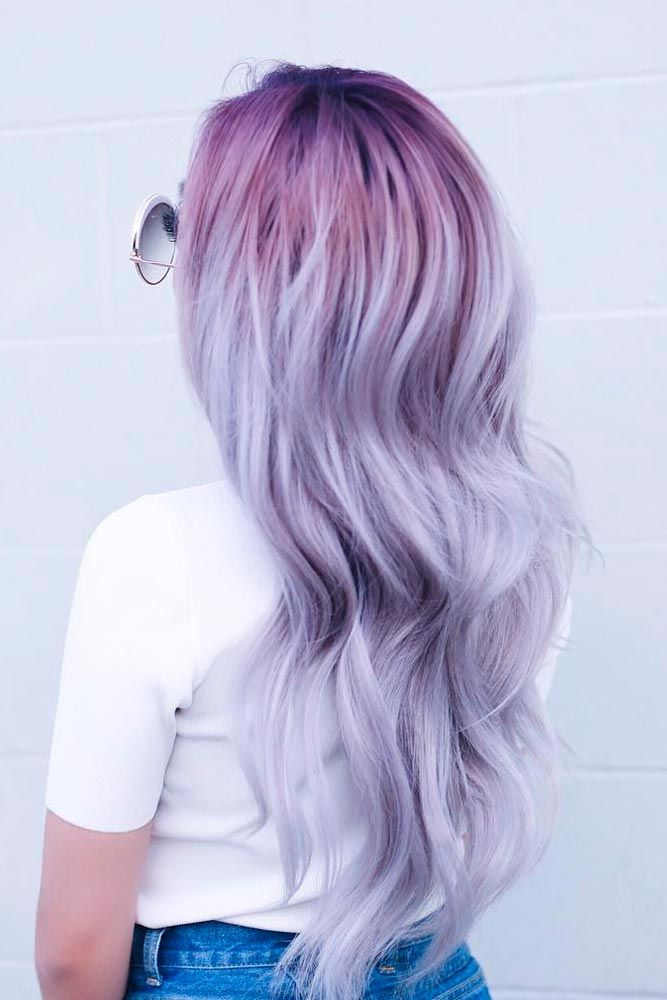 75 Tempting And Attractive Purple Hair Looks ...