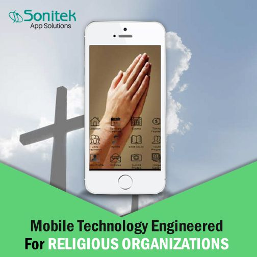 We Offer Affordable & Feature-rich Mobile Apps for Religious Organizations. #MobileApps