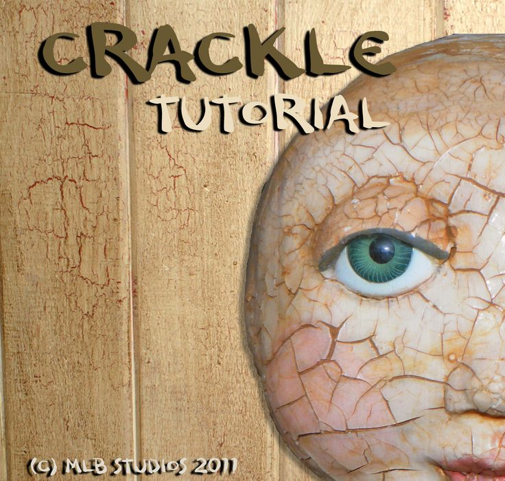 how to use crackle paint on paper