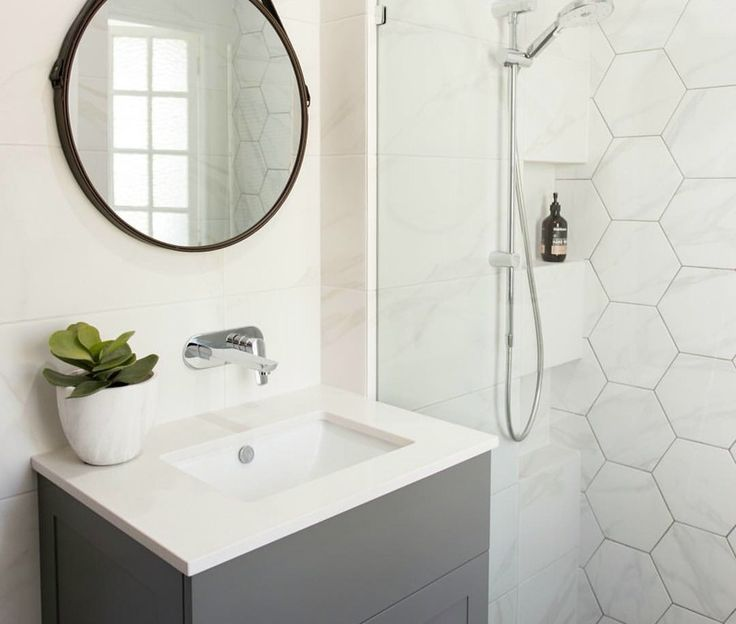 I was watching one of those American reno shows last night and the girl was using dark grout with her white honeycomb shaped tiles and they came up amazing. I tossed up about the dark grout in my own kitchen when I was building but never went through with it. I should have because it …