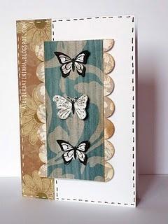 Cartão artesanal com enfeites impressos #PAP #tutorial #DIY #papercraft #cardmaking