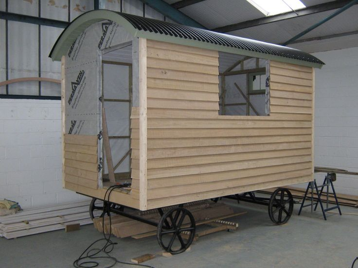 """Meet Abigail and Beatrice, the Shepherds Huts. Abigail is for sale on Ebay search for ""Abigail the shepherds hut"""""
