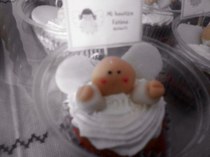 Cupcake ángel