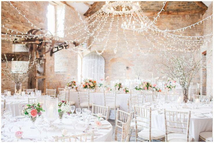 Almonry Barn, barn wedding, twinkly lights, uk barn, wedding venue, bowtie and belle photography - www.bowtieandbellephotography.co.uk