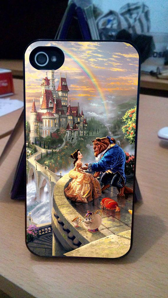 Disney Paintings Beauty And The Beast Case iPhone 3Gs/4/4s/5/5s/5c, iPod 4/5/nano7, Samsung Galaxy s2/s3/s4/s5/note/ace2, HTC One/One X on Etsy, $13.90