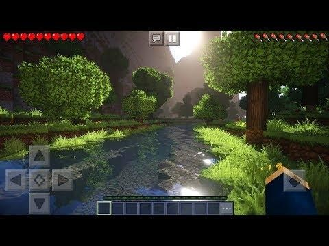 MCPE 1 6 TOP 3 BEST ULTRA REALISTIC SHADERS - Minecraft PE