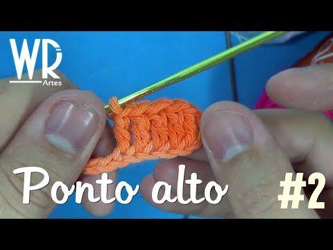 4 Pontos de Crochê Passo a Passo Para Iniciantes   Revista Artesanato