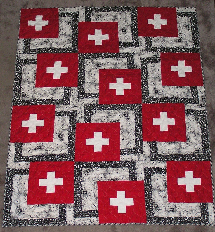 Swiss Flags uploaded by pinner