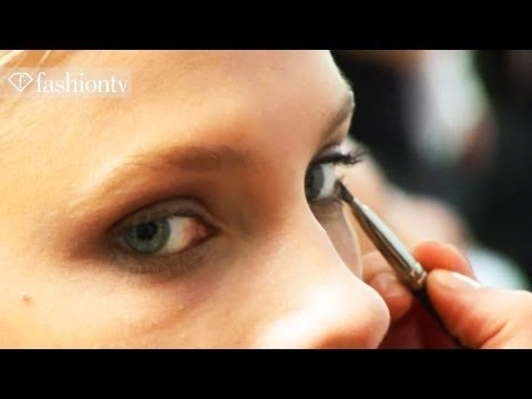 Barbara Bui Models Backstage - Spring 2012 Paris Fashion Week | FashionTV - FTV