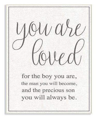 You Are The Boy