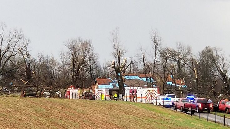 ICYMI: Possible Tornado Strikes Adairville, Kentucky; At Least 1 Dead - The Weather Channel